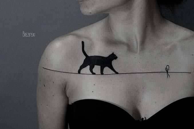 Τατουάζ για όσους λατρεύουν τις γάτες (15)