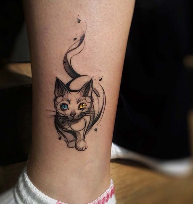 Τατουάζ για όσους λατρεύουν τις γάτες (17)