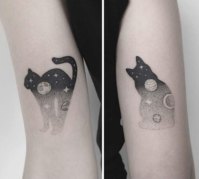 Τατουάζ για όσους λατρεύουν τις γάτες (19)