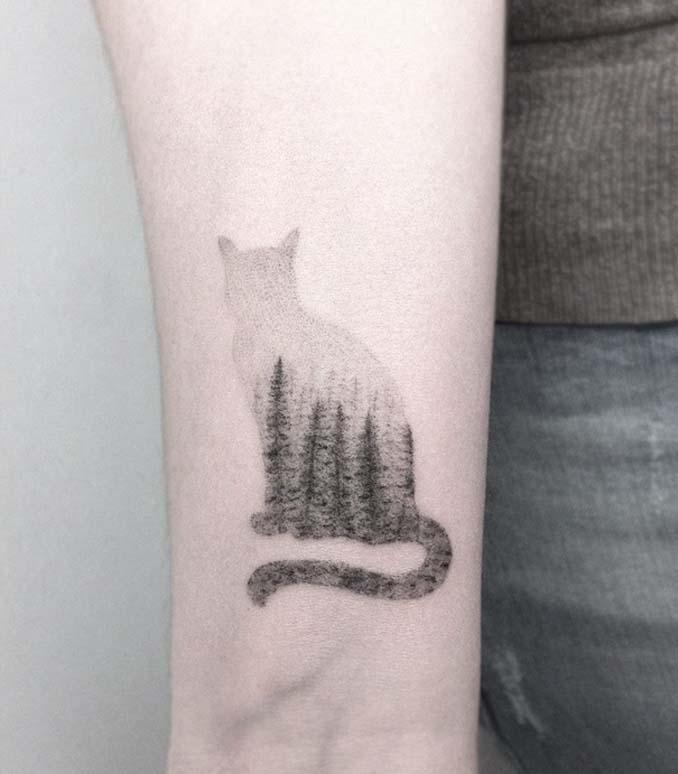 Τατουάζ για όσους λατρεύουν τις γάτες (20)