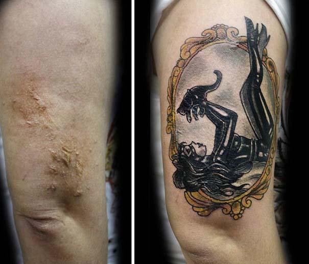 Τατουάζ που χρησιμοποιήθηκαν για να καλύψουν ουλές (8)