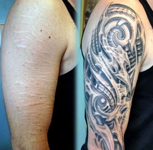 Τατουάζ που χρησιμοποιήθηκαν για να καλύψουν ουλές (12)