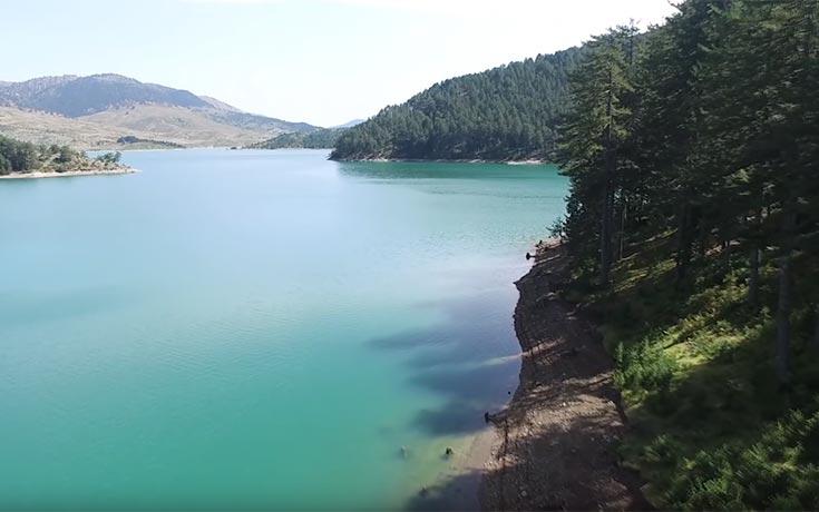 Τεχνητή λίμνη του Αώου στο Μέτσοβο