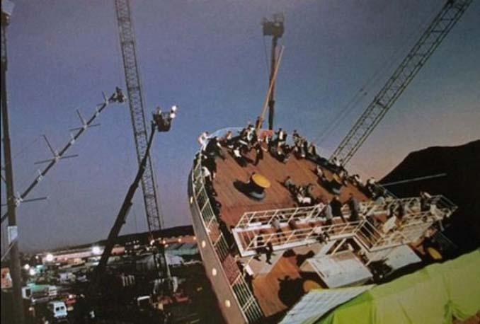 Τιτανικός: Φωτογραφίες από τα γυρίσματα της ταινίας (2)