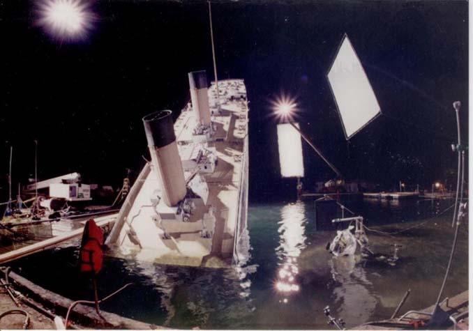 Τιτανικός: Φωτογραφίες από τα γυρίσματα της ταινίας (3)