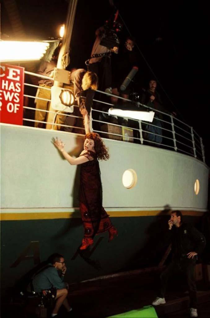 Τιτανικός: Φωτογραφίες από τα γυρίσματα της ταινίας (5)