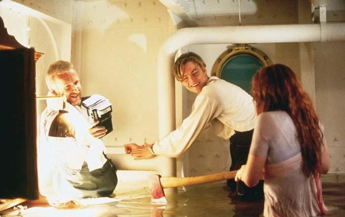 Τιτανικός: Φωτογραφίες από τα γυρίσματα της ταινίας (6)