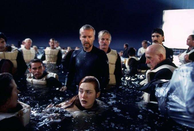 Τιτανικός: Φωτογραφίες από τα γυρίσματα της ταινίας (7)