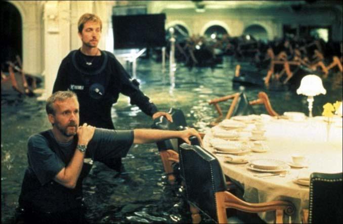 Τιτανικός: Φωτογραφίες από τα γυρίσματα της ταινίας (8)