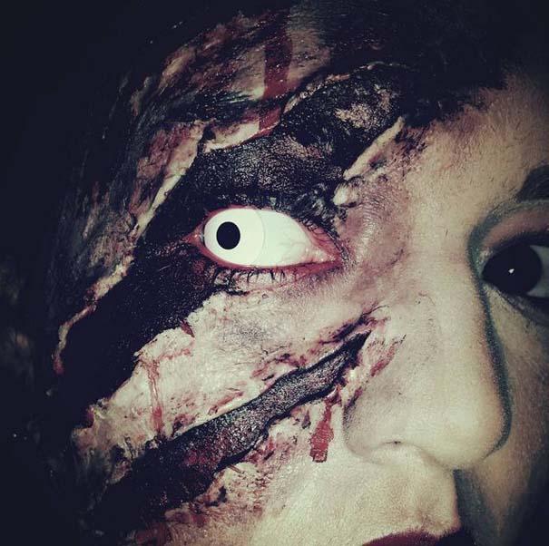 Τρομακτικές μεταμορφώσεις με μακιγιάζ για το Halloween (3)