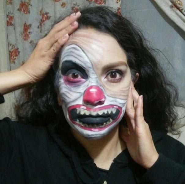 Τρομακτικές μεταμορφώσεις με μακιγιάζ για το Halloween (5)