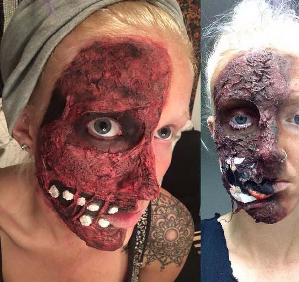 Τρομακτικές μεταμορφώσεις με μακιγιάζ για το Halloween (6)