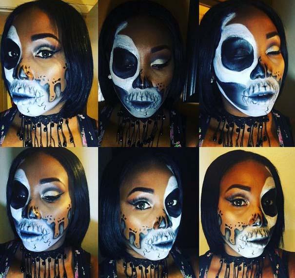 Τρομακτικές μεταμορφώσεις με μακιγιάζ για το Halloween (7)