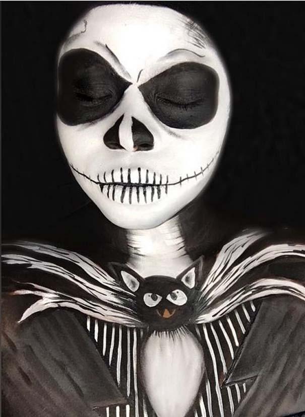 Τρομακτικές μεταμορφώσεις με μακιγιάζ για το Halloween (9)