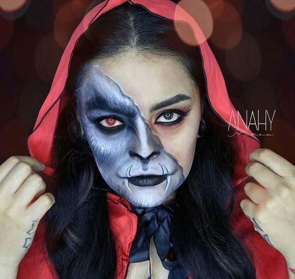 Τρομακτικές μεταμορφώσεις με μακιγιάζ για το Halloween (10)