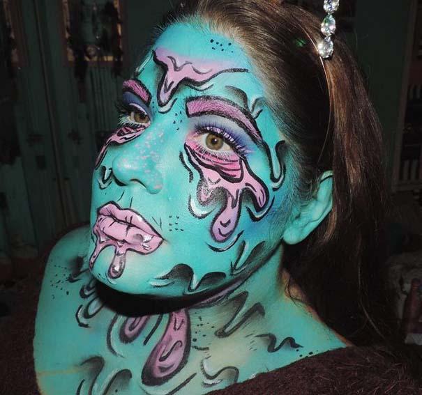 Τρομακτικές μεταμορφώσεις με μακιγιάζ για το Halloween (12)