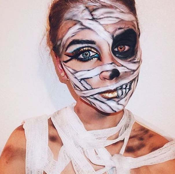 Τρομακτικές μεταμορφώσεις με μακιγιάζ για το Halloween (13)