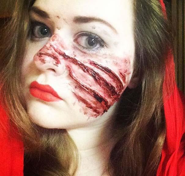 Τρομακτικές μεταμορφώσεις με μακιγιάζ για το Halloween (15)