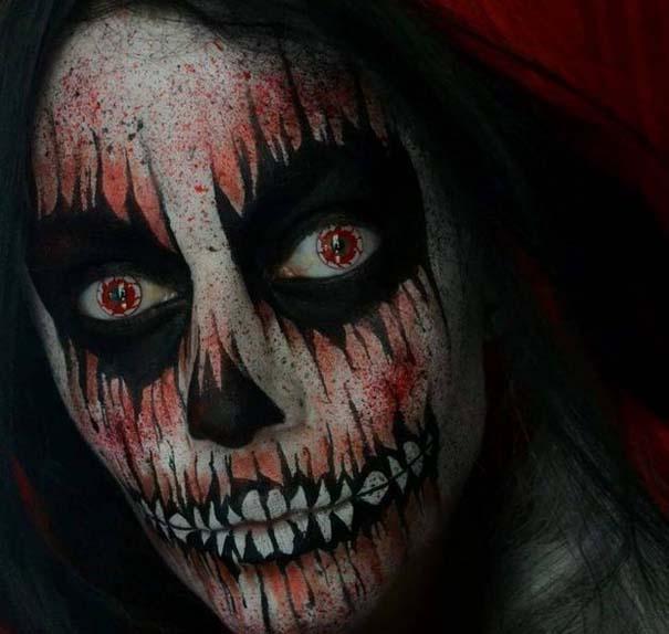 Τρομακτικές μεταμορφώσεις με μακιγιάζ για το Halloween (16)