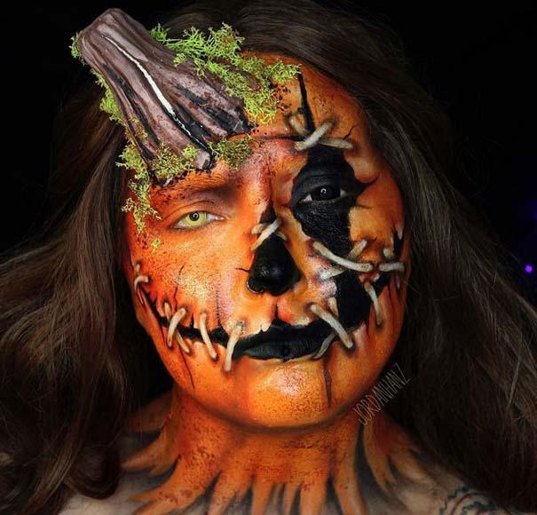 Τρομακτικές μεταμορφώσεις με μακιγιάζ για το Halloween (17)