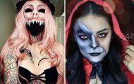 Τρομακτικές μεταμορφώσεις με μακιγιάζ για το Halloween (19)