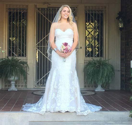 Υπέρβαρη κοπέλα εξέπληξε τους πάντες την ημέρα του γάμου της (7)