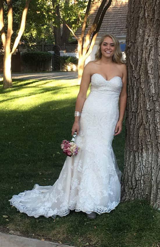 Υπέρβαρη κοπέλα εξέπληξε τους πάντες την ημέρα του γάμου της (9)