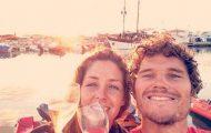 Ζευγάρι ταξίδεψε από την Αγγλία στην Γαλλία με σκάφος που κατασκεύασαν μόνοι τους (1)