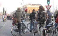 Το Άμστερνταμ σε ώρα αιχμής ποδηλάτων