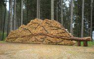 Άνθρωποι που μετέτρεψαν τις στοίβες ξύλων σε μορφή τέχνης (1)