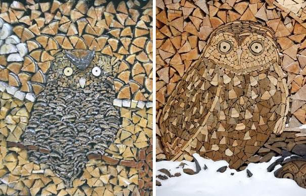 Άνθρωποι που μετέτρεψαν τις στοίβες ξύλων σε μορφή τέχνης (5)
