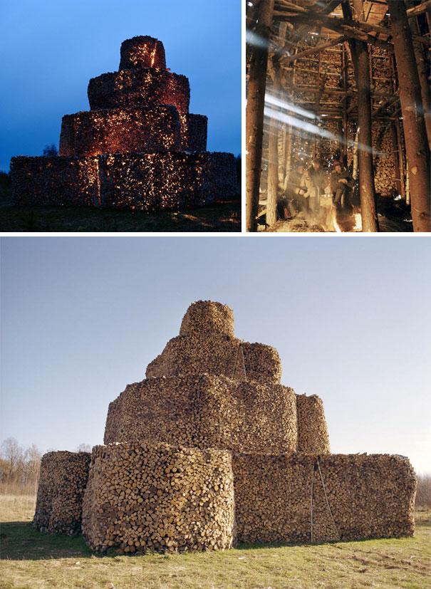 Άνθρωποι που μετέτρεψαν τις στοίβες ξύλων σε μορφή τέχνης (11)