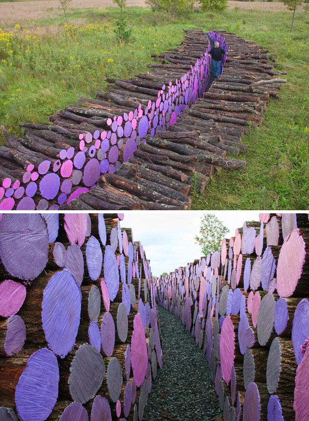 Άνθρωποι που μετέτρεψαν τις στοίβες ξύλων σε μορφή τέχνης (12)