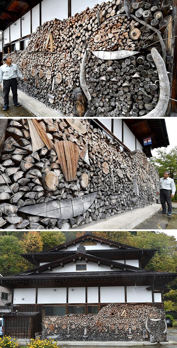 Άνθρωποι που μετέτρεψαν τις στοίβες ξύλων σε μορφή τέχνης (13)