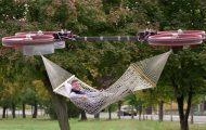 Το απόλυτο gadget του τεμπέλη: Αιώρα που κινείται με drones