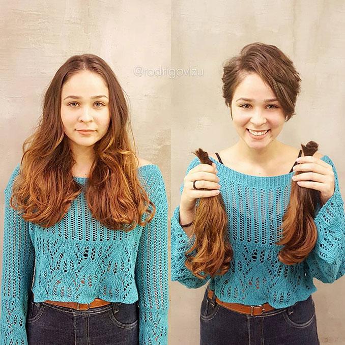 Φωτογραφίες που δείχνουν πως ένα κούρεμα μπορεί να αλλάξει εντελώς την εμφάνισή μας (6)