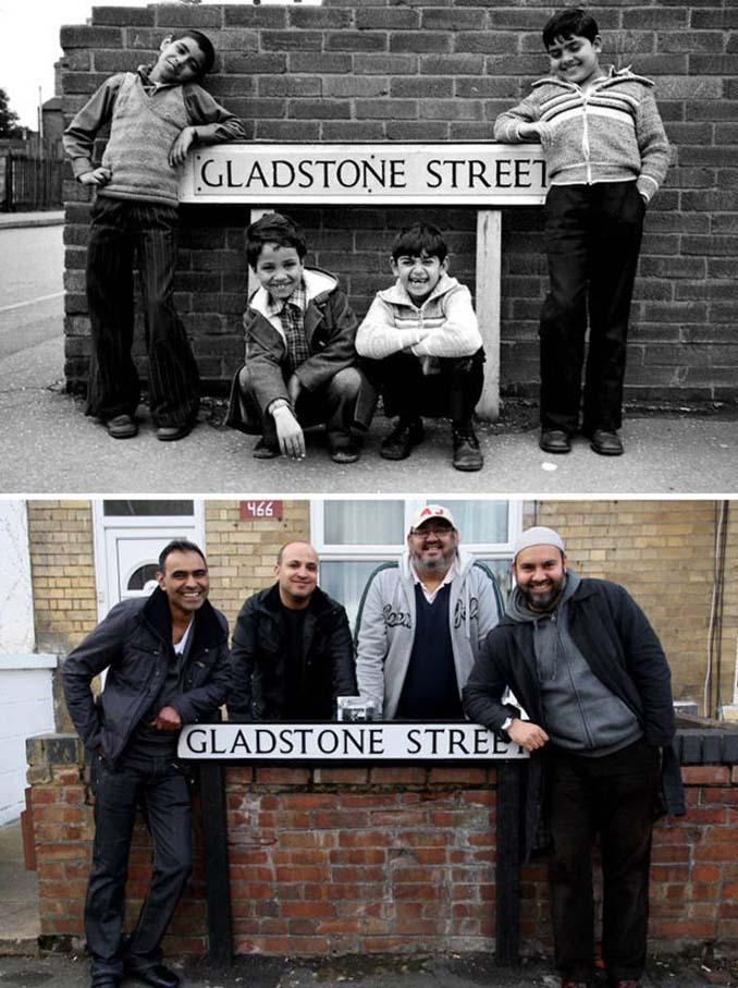 Επέστρεψε στην πόλη του για να φωτογραφίσει μετά από 40 χρόνια τους ίδιους ανθρώπους στην ίδια πόζα (4)