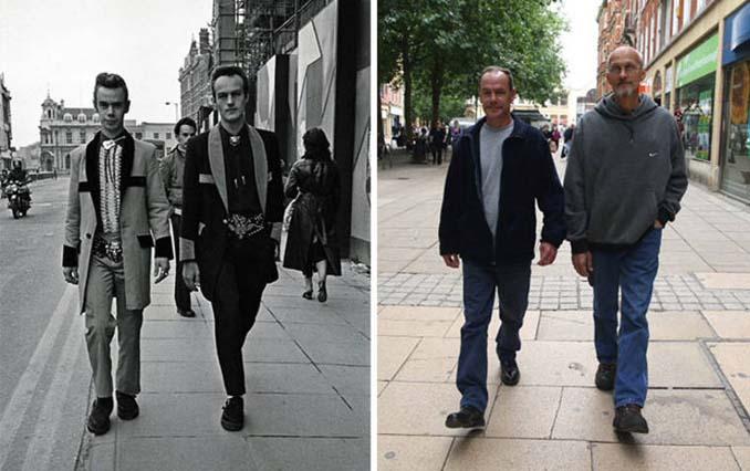 Επέστρεψε στην πόλη του για να φωτογραφίσει μετά από 40 χρόνια τους ίδιους ανθρώπους στην ίδια πόζα (5)