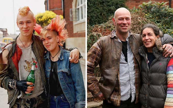Επέστρεψε στην πόλη του για να φωτογραφίσει μετά από 40 χρόνια τους ίδιους ανθρώπους στην ίδια πόζα (7)
