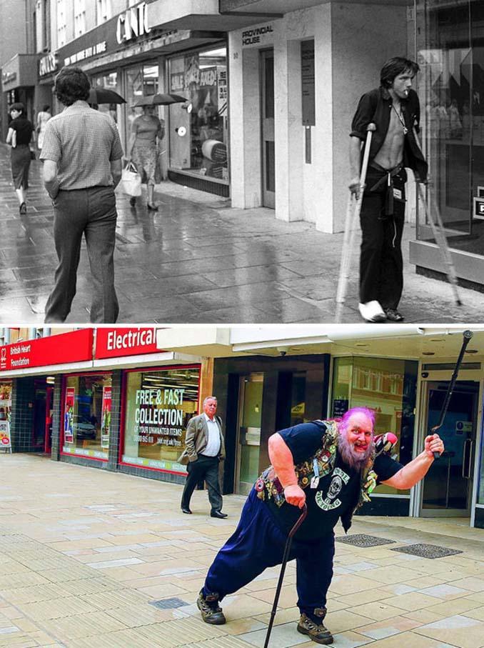Επέστρεψε στην πόλη του για να φωτογραφίσει μετά από 40 χρόνια τους ίδιους ανθρώπους στην ίδια πόζα (9)