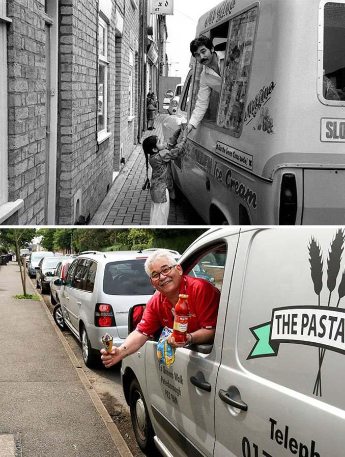 Επέστρεψε στην πόλη του για να φωτογραφίσει μετά από 40 χρόνια τους ίδιους ανθρώπους στην ίδια πόζα (10)