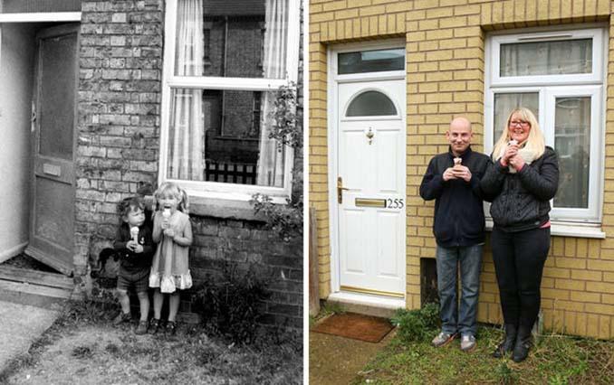 Επέστρεψε στην πόλη του για να φωτογραφίσει μετά από 40 χρόνια τους ίδιους ανθρώπους στην ίδια πόζα (11)