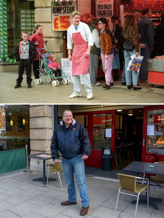 Επέστρεψε στην πόλη του για να φωτογραφίσει μετά από 40 χρόνια τους ίδιους ανθρώπους στην ίδια πόζα (12)