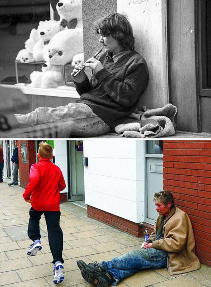 Επέστρεψε στην πόλη του για να φωτογραφίσει μετά από 40 χρόνια τους ίδιους ανθρώπους στην ίδια πόζα (14)