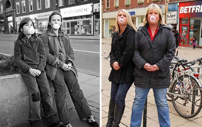 Επέστρεψε στην πόλη του για να φωτογραφίσει μετά από 40 χρόνια τους ίδιους ανθρώπους στην ίδια πόζα (20)