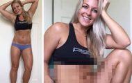 Γυναίκα δείχνει το σώμα της σε 2 διαφορετικές στάσεις (1)