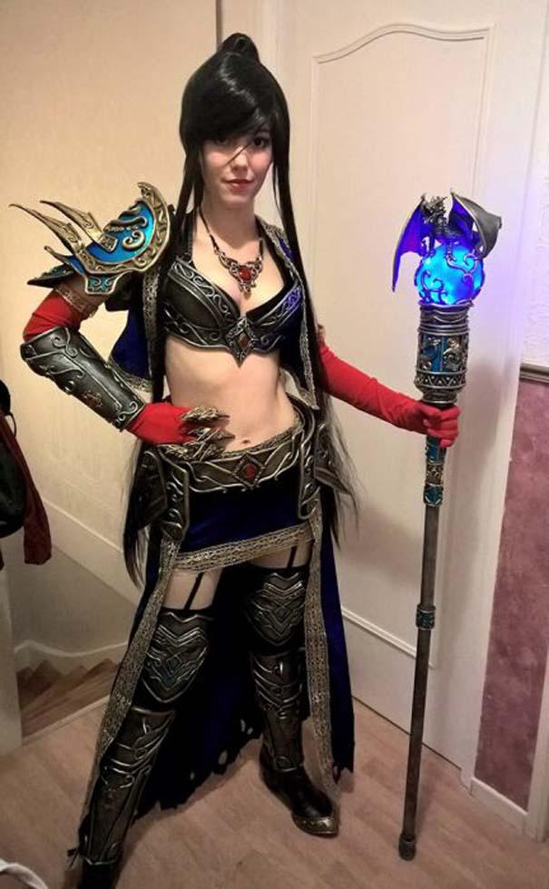 Γυναίκες που παίρνουν άριστα στο cosplay (2)