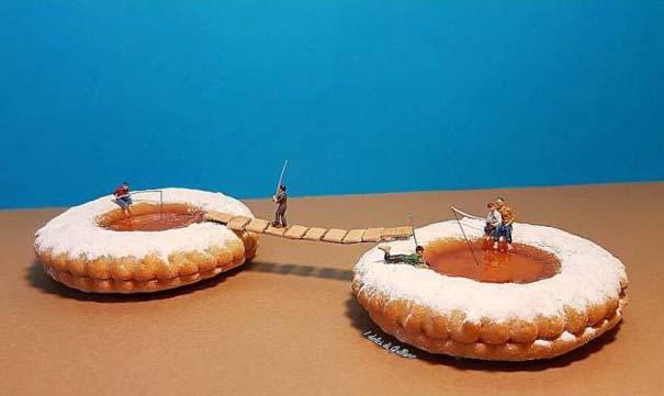 Ιταλός pastry chef δημιουργεί μικροσκοπικούς κόσμους με τα γλυκά του (9)