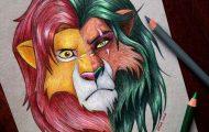 Αυτή η καλλιτέχνις ενώνει τους ήρωες της Disney με τους κακούς (1)