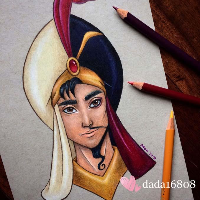 Αυτή η καλλιτέχνις ενώνει τους ήρωες της Disney με τους κακούς (3)